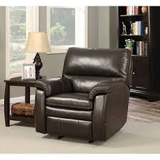 crawford top grain leather recliner with usb ports sam u0027s club