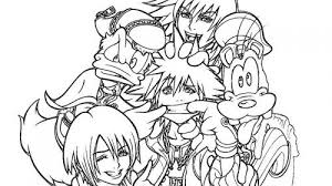 lovely kingdom hearts coloring pages coloring pages activities