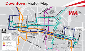 Google Maps San Antonio Bus Services Via Metropolitan Transit