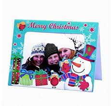 photo insert christmas cards bright ideas 5 photo frame christmas cards with envelopes insert