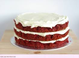 belfastbride red velvet wedding cake
