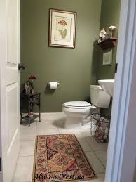 bathroom mat ideas green wall paint color decorating in modern small powder room with