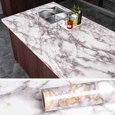 what to put on top of kitchen wall cabinets veelike faux marble counter top covers peel and stick wallpaper granite contact paper decorative kitchen wall paper gray waterproof self adhesive