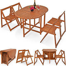 brown wooden hanging outdoor table balcony garden foldable hooks