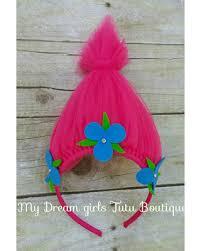pink headbands fall into this deal on poppy trolls headband princess poppy