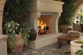 double sided gas fireplace indoor outdoor the differences of