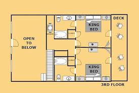 mountain cabin floor plans smoky mountain retreat sevierville log cabin in sevierville tn