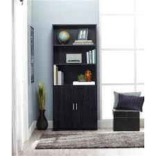 Sauder 3 Shelf Bookcase Bookcase 3 Shelf With Doors Sauder Library Design Home Furniture