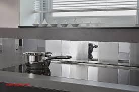 credence cuisine miroir frise carrelage cuisine pour idees de deco de cuisine élégant une
