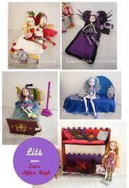 accessoire high pour chambre des lits pour poupée mannequin after high high