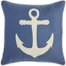 Anchor Home Decor by Anchor Embroidered Pillow Pier 1 Imports