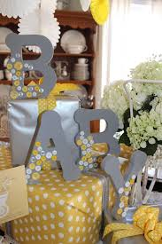 yellow baby shower decorations 41 gender neutral baby shower décor ideas that excite digsdigs