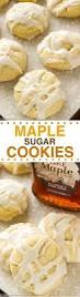 chewy maple cookies recipe maple cookies maple syrup and