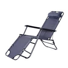 outsunny folding lounge chair chaise portable recliner sun lounger