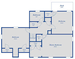 floor layout 3 bedroom