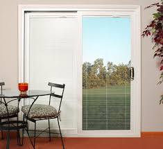 sliding patio doors with built in blinds barn and patio doors