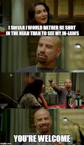 Meme Shot - skinhead john travolta meme imgflip
