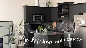 new black kitchen cabinets diy modern black kitchen contact paper painting cabinets