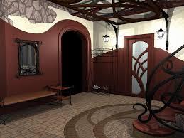 wonderful white red wood glass modern design home interior ideas