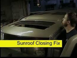 2014 jeep sunroof jeep chrysler sunroof closing fix