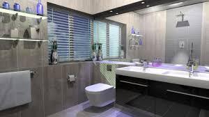Dark Gray Bathroom by Floating Glass Wall Shelf For Dark Gray Bathroom Decor With White