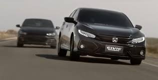 on honda civic commercial 2017 honda civic hatch chased by vw scirocco in commercial