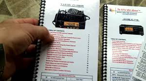 Radio Frequency Reference Guide Nifty Ham Radio Mini Manuals Review Youtube