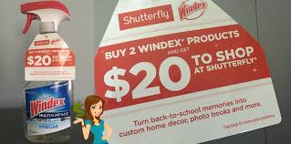 shutterfly black friday 20 shutterfly credit with windex purchase moola saving mom