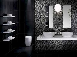 black bathroom design ideas beautiful black and white monochrome bathroom design ideas best