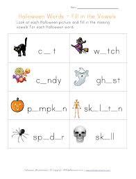 halloween kindergarten worksheets free halloween worksheet