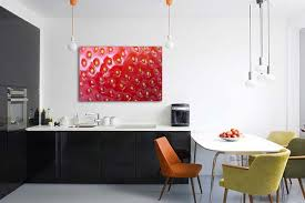 cuisine murale superb idee peinture cuisine meuble blanc 8 d233coration murale