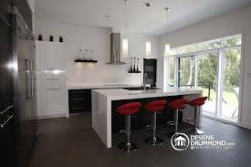 cuisine moderne avec ilot central modele cuisine moderne avec ilot central cuisine en image
