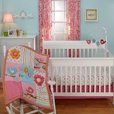 Nojo Crib Bedding Set Sweet Lil Birds 7 Baby Crib Bedding Set And Secure Me Bumper