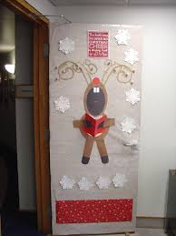 Office Decorating Ideas Pinterest by Christmas Door Decoration At Office 2012 Christmas Crafts