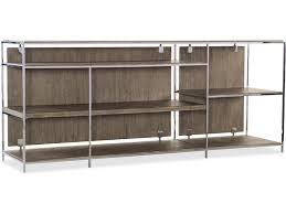 hooker furniture home office storia low bookcase 1609 10420 mwd