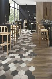 carrelage cuisine carrelage hexagonal tendance idées de couleurs et designs