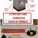 ridgid table saw r4513 parts table saw parts and accessories learning the basics is important