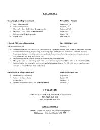 Staffing Recruiter Resume Chris Wooddell Cv W References Senior Recruiter Sourcer Corporate U2026