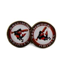 baltimore orioles logo cufflinks baseball alternate logo