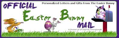 official easter bunny mail personalized easter bunny letters