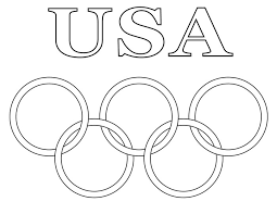 olympic rings color images Olympic coloring page 8 free printable olympic coloring pages jpg