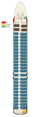 seat map boeing b717 hawaiian airlines