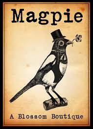 Austin Tx Flower Shops - magpie flower shop logo design created by austin logo designs in