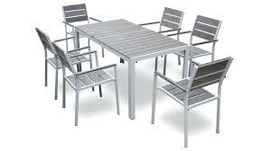 chaise jardin aluminium chaise de jardin aluminium pas cher fabulous emejing table de