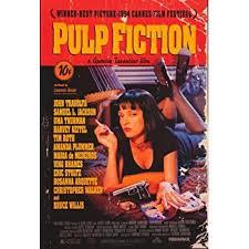 amazon com professionally framed pulp fiction movie uma thurman