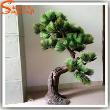 New products for 2015 latest style artificial decorative pine tree