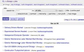 Job Wanted Resumes by How To Find A Job On Craigslist And Get Ahead Of Competitors