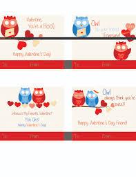 free printable owl valentine cards fancy shanty