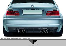 Bmw M3 Back - bmw m3 e46 2 dr af 2 rear diffuser cfp 01 02 03 04 05 06 by aero