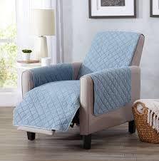 home fashion designs great bay home box cushion recliner slipcover